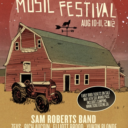 Past Acts of Wolfe Island Music Fest