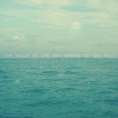 My Only True Love Is The Sea