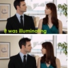 It was illuminating...
