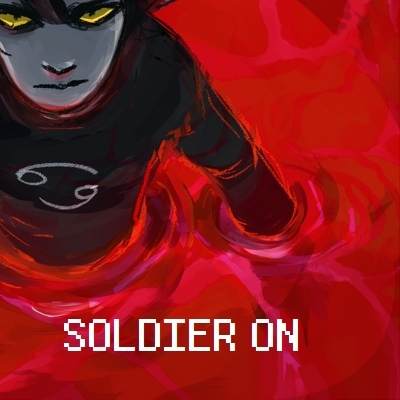 soldier on
