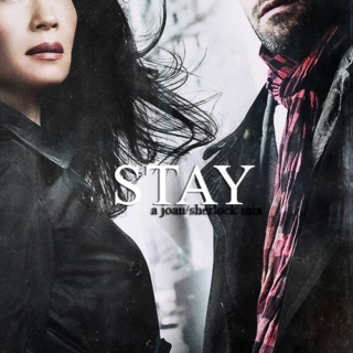 stay | a joan/sherlock mix