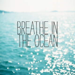 Breath in the ocean
