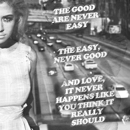The Good Are Never Easy