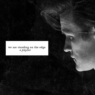 we are standing on the edge