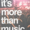 its more than music