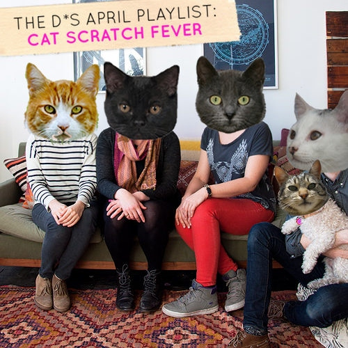 April Playlist: Cat Scratch Fever