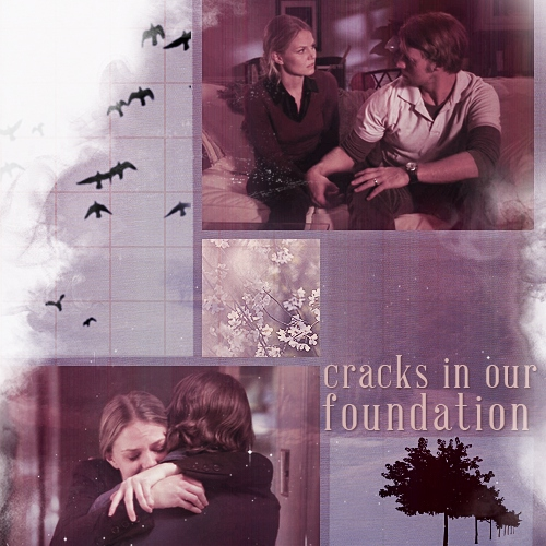 cracks in our foundation,