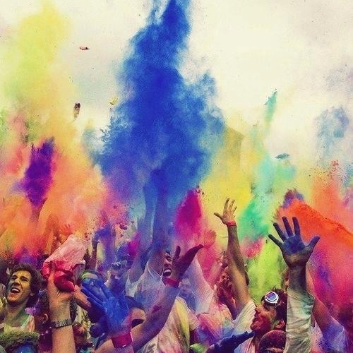 this is life in color, today feels like no other