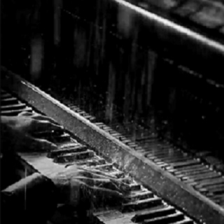 Piano strings and rainy things