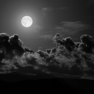 In the arms of my moon.