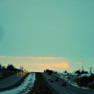 The long drive home.