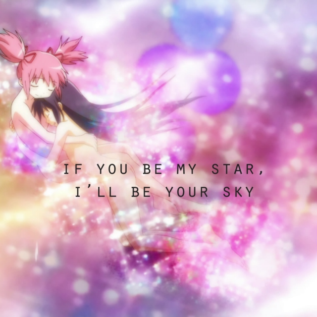 if you be my star, i'll be your sky