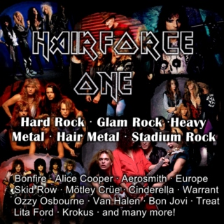 Hairforce One - Volume 1