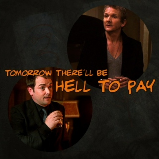 Tomorrow There'll Be Hell To Pay [a Crowley/Balthazar fanmix]