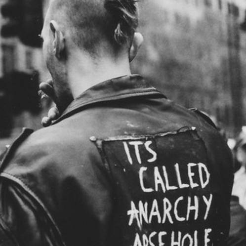 it's called anarchy