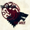 the dragon and the wolf.