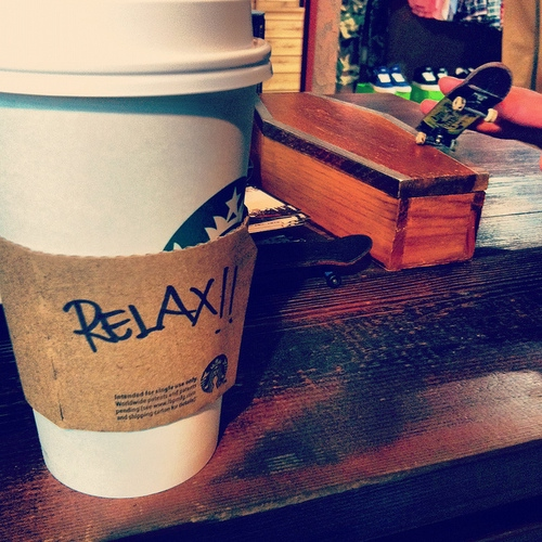 stop, breathe and relax