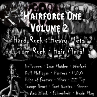 Hairforce One - Volume 2