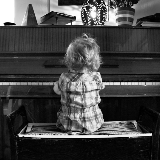 The piano is not firewood yet