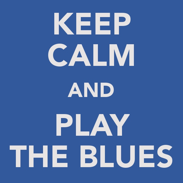 The Blues makes the World go Round.