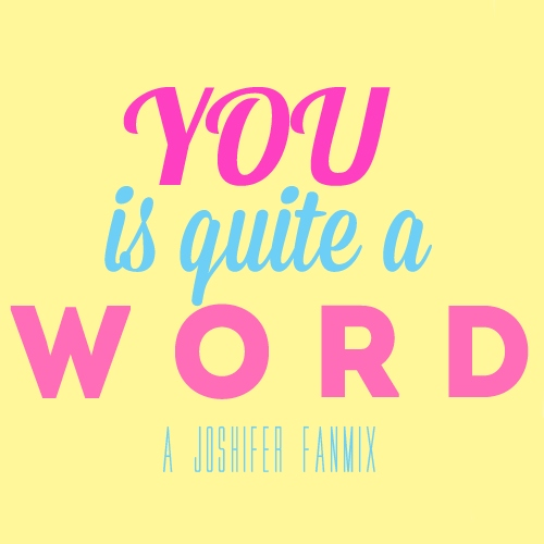 YOU is quite a w o r d