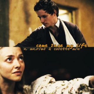 come save my life: a marius & cosette mix