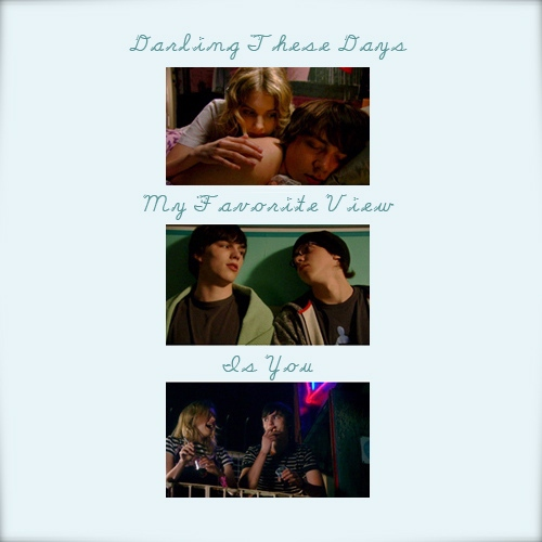 Darling These Days My Favorite View Is You [a Cassie/Sid/Tony fanmix]