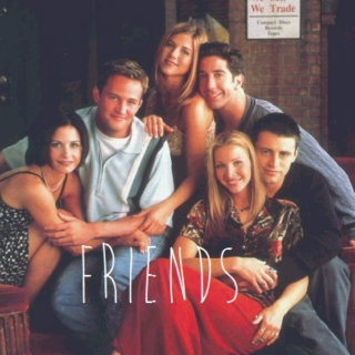I'll be there for you, cause you're there for me too.