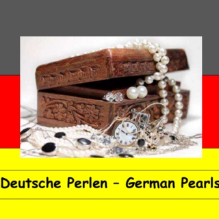 Deutsche Perlen - German pearls