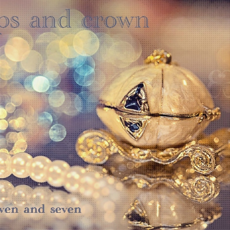 caps and crown || seven and seven