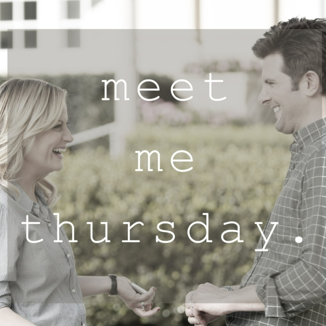 Meet Me Thursday- A Ben/Leslie Fanmix