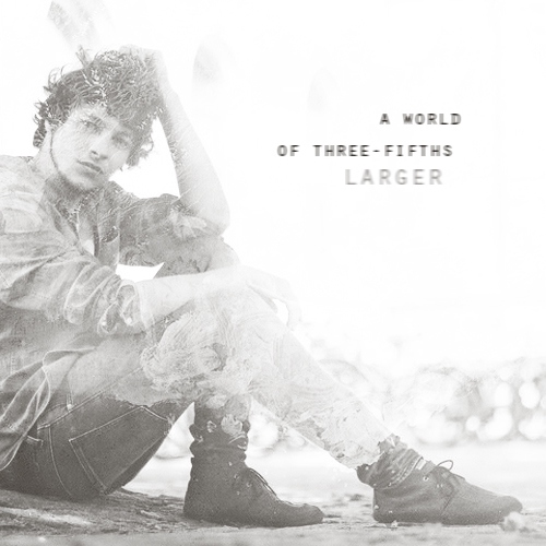 A World Of Three-Fifths Larger