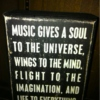 Music is the heart of our soul