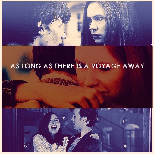 as long as there is a voyage away.
