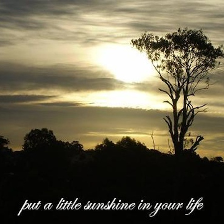 put a little sunshine in your life