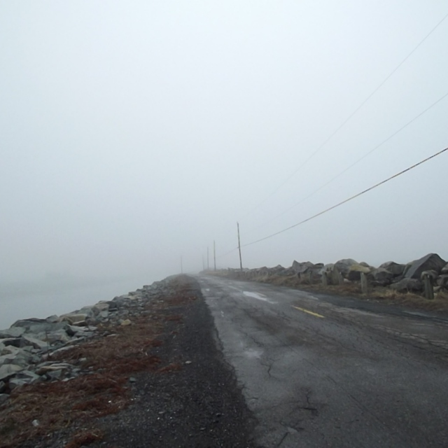Have you ever been at sea in a dense fog?