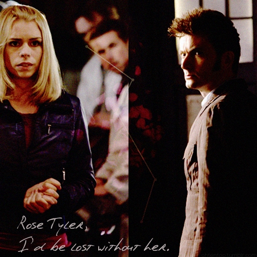 lost without her | ten + rose