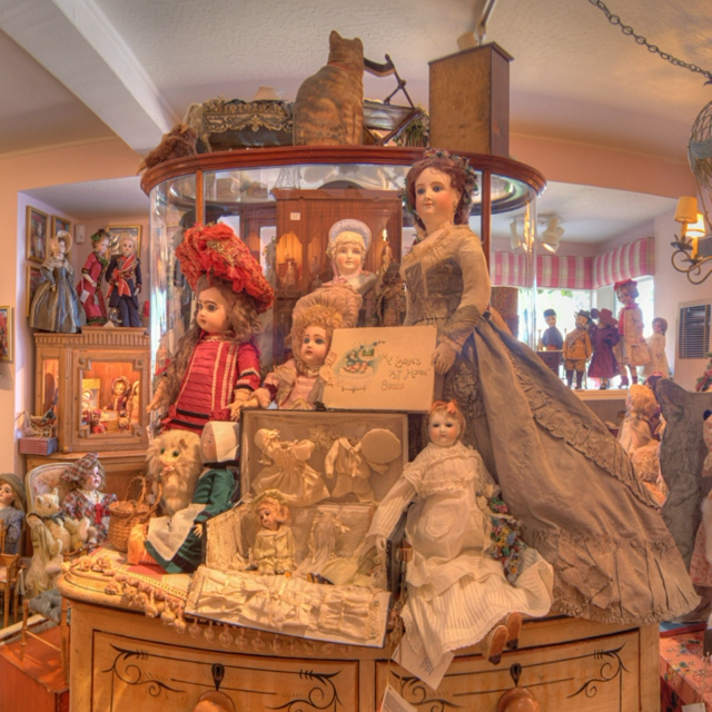 the doll shop down the street