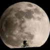Biking Over the Moon