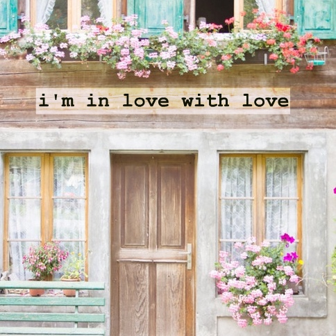 i'm in love with love