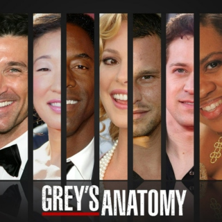 Grey's Anatomy favourites!