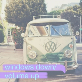 Windows Down/Volume Up