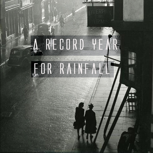 a record year for rainfall.