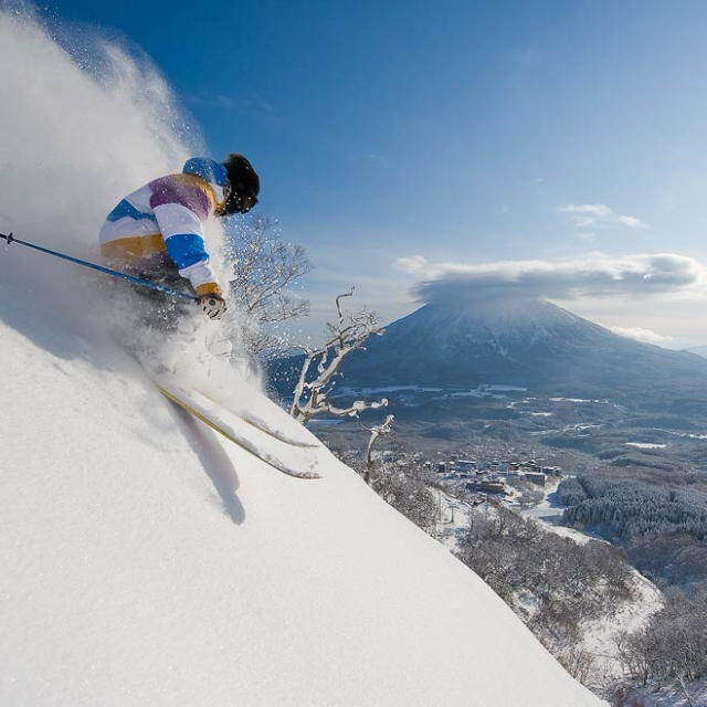 Skiing Powder in Niseko (Japan)