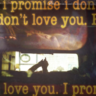 i promise i don't love you