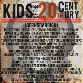 Kids of the 20th Century