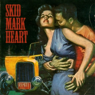 Skid Mark Heart