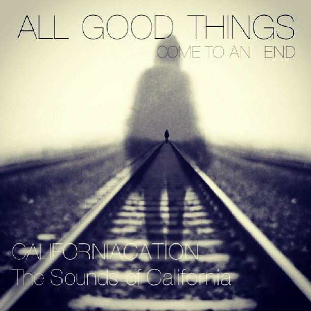 all good things}{come to an end
