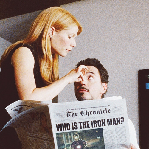 Marvel At The Glow: A Pepperony Fanmix