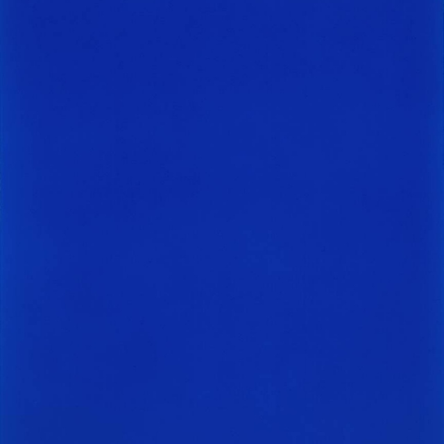 an yves klein kind of blue